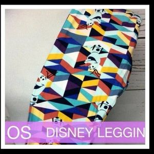 Disney Olaf LuLaRoe Leggings/OS/BNWT